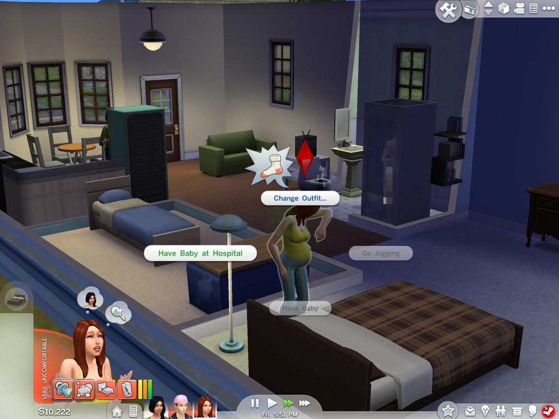 how to become pregnant in sims 4 teen