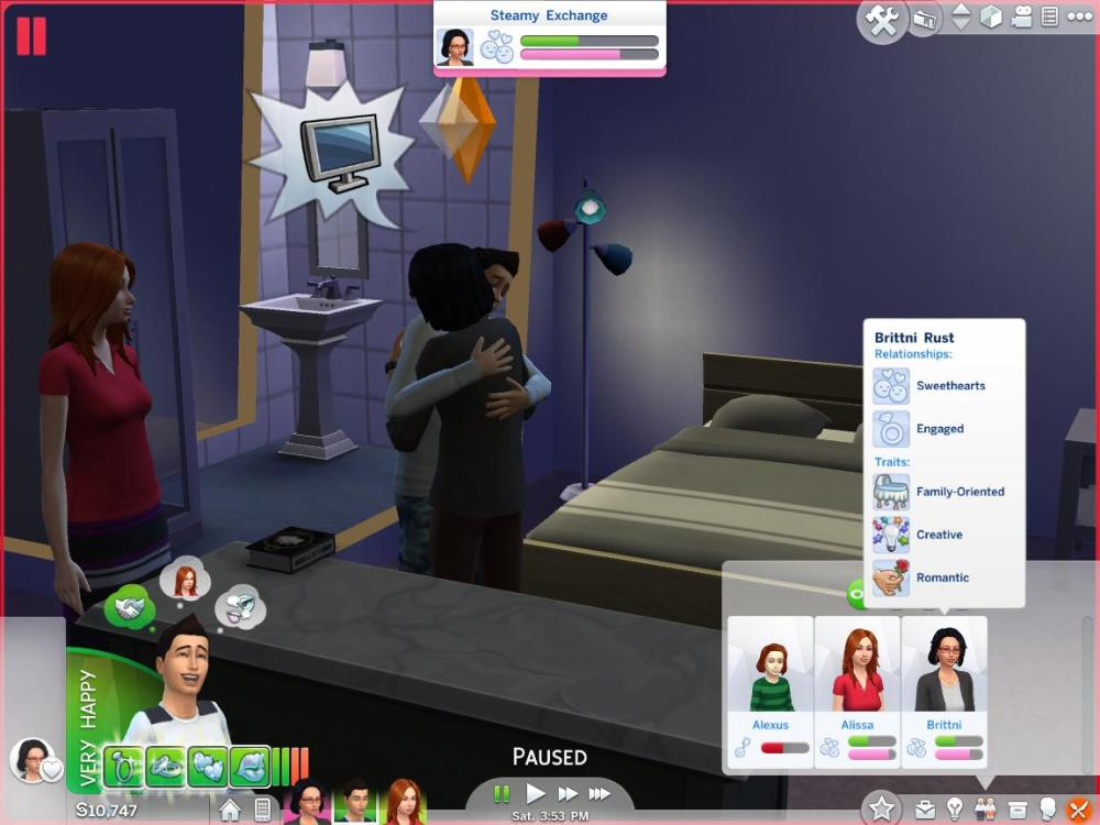 Sims 4 Polygamy/Multiple marriages + Inteen | Lostaccount's Blog