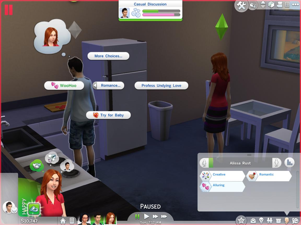 Mod The Sims - WCIF Teen Woohoo